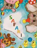 Vodomalovánky SAFARI - nekonečné omalovánky